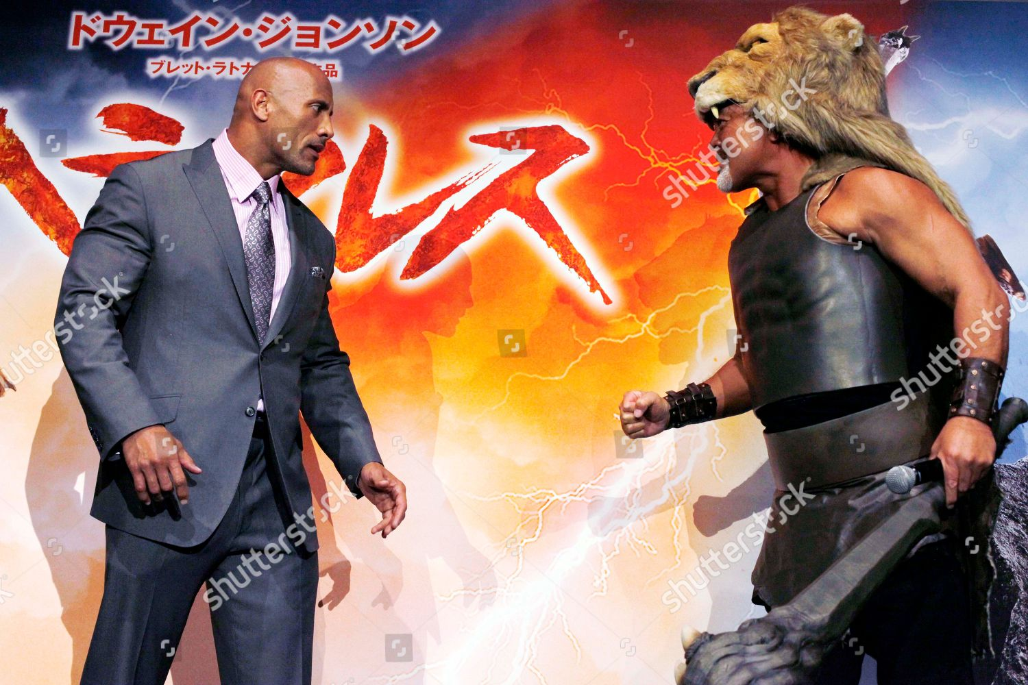 Dwayne Johnson Keiji Muto American Actor Dwayne Editorial