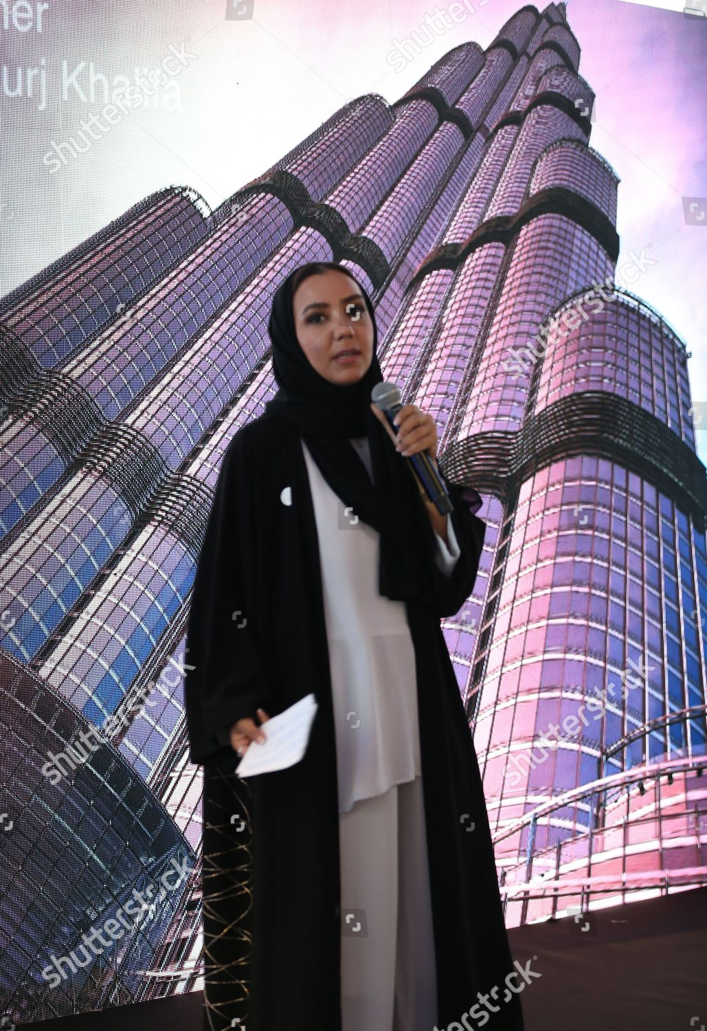 Zeina Dagher Senior Director Operations Burj Khalifa Editorial Stock Photo Stock Image Shutterstock