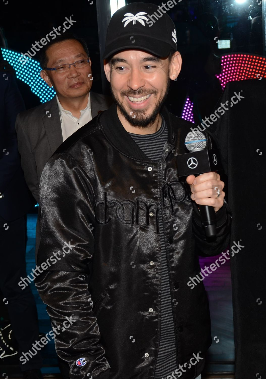 Member Linkin Park Mike Shinoda Editorial Stock Photo