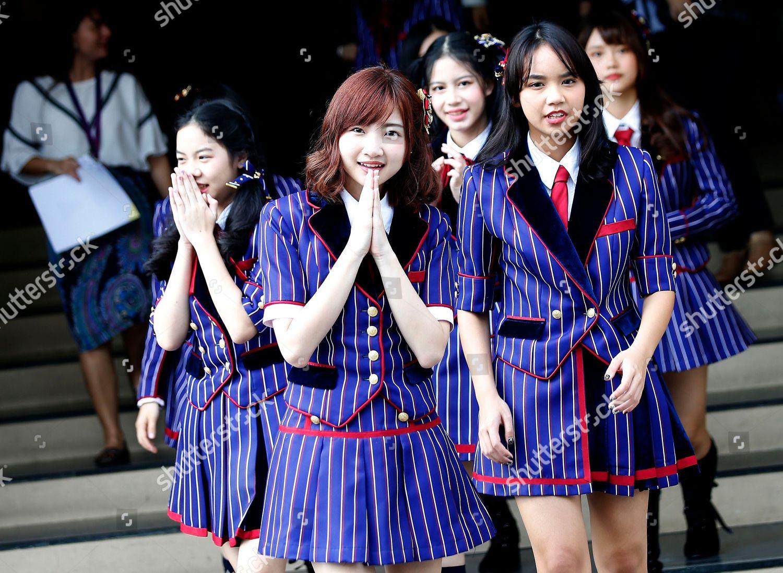 Several members Thai girl group BNK48 perform Editorial