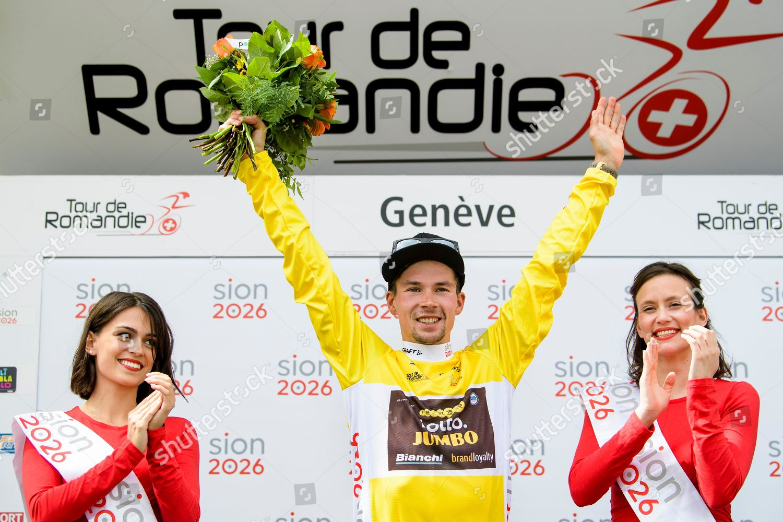 Editorial Stock Photo of overall winner Slovenian rider Primoz ... 6dbbacea9