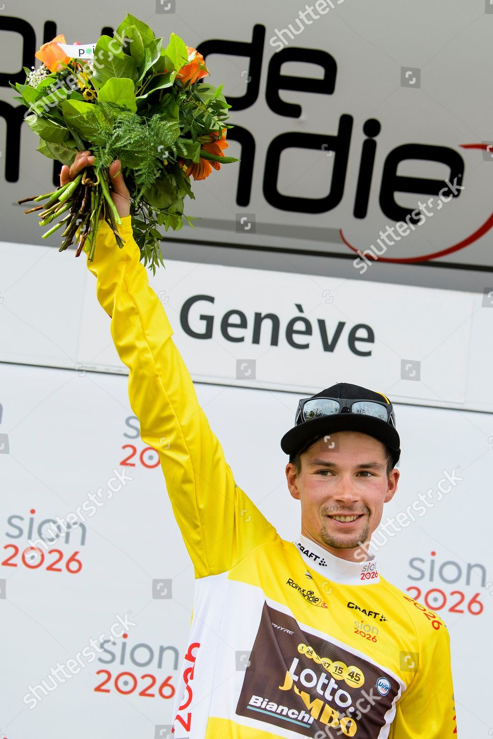 Editorial Stock Photo of overall winner Slovenian rider Primoz ... 6dbbacea9