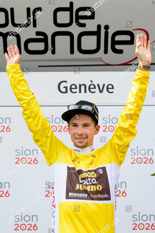 overall winner Slovenian rider Primoz Roglic team Editorial Stock ... 1f1dcc91d