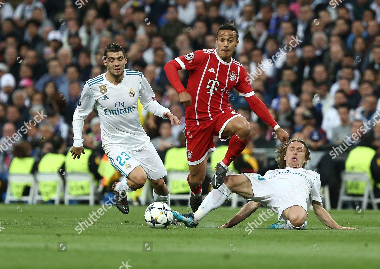 Thiago Alcantara Bayern Munchen Competes Ball Luca Editorial Stock Photo Stock Image Shutterstock