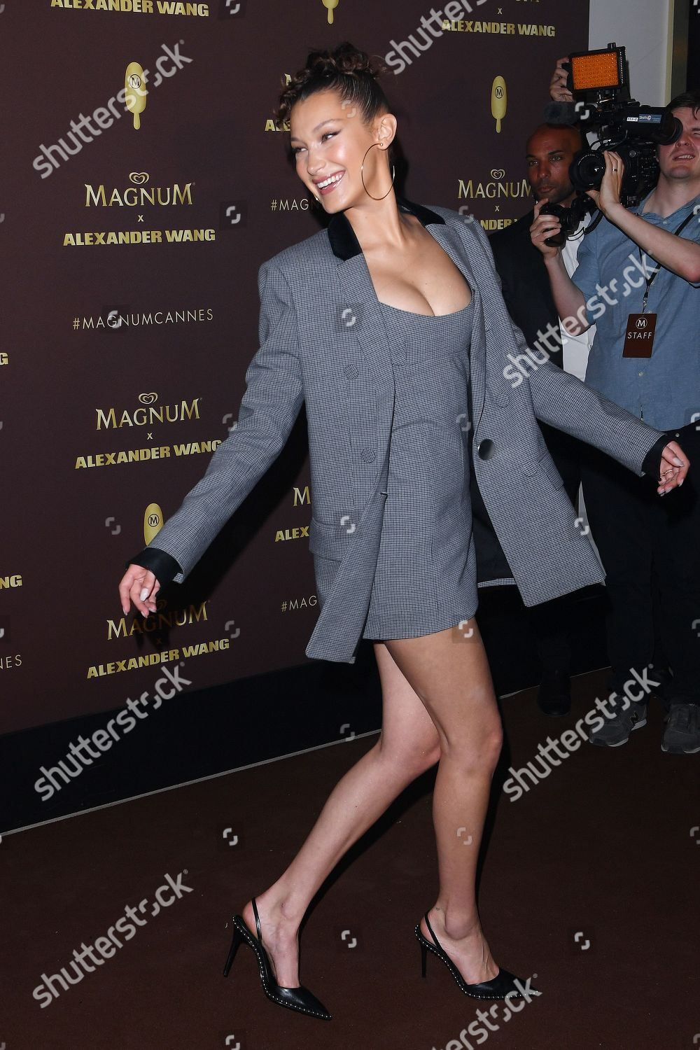 4513edcd661d Magnum x Alexander Wang party, 71st Cannes Film Festival, France - 10 May  2018