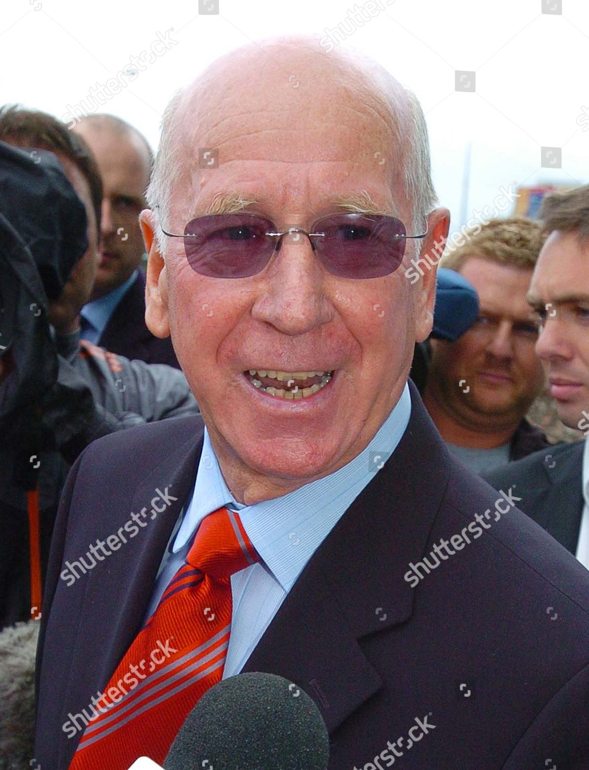 Sir Bobby Charlton Pictured Outside Old Trafford Editorial Stock Photo Stock Image Shutterstock