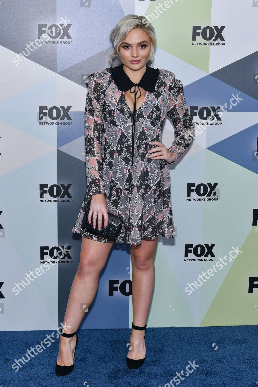 Natalie alyn lind fox upfront presentation in nyc new pics