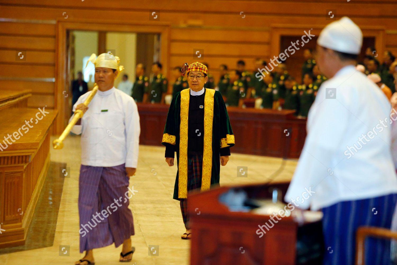T Khun Myat C chairman Pyithu Hluttaw Editorial Stock Photo ...