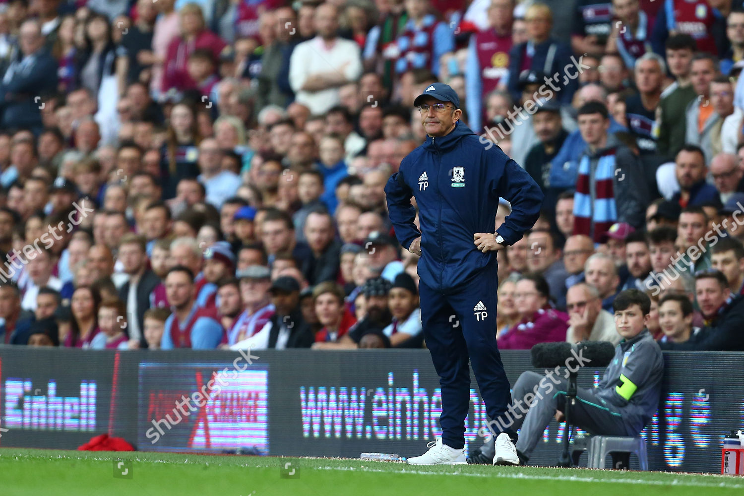 Tony Pulis Middlesbrough manager Editorial Stock Photo