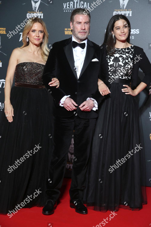 Kelly Preston John Travolta Ella Bleu Travolta Editorial