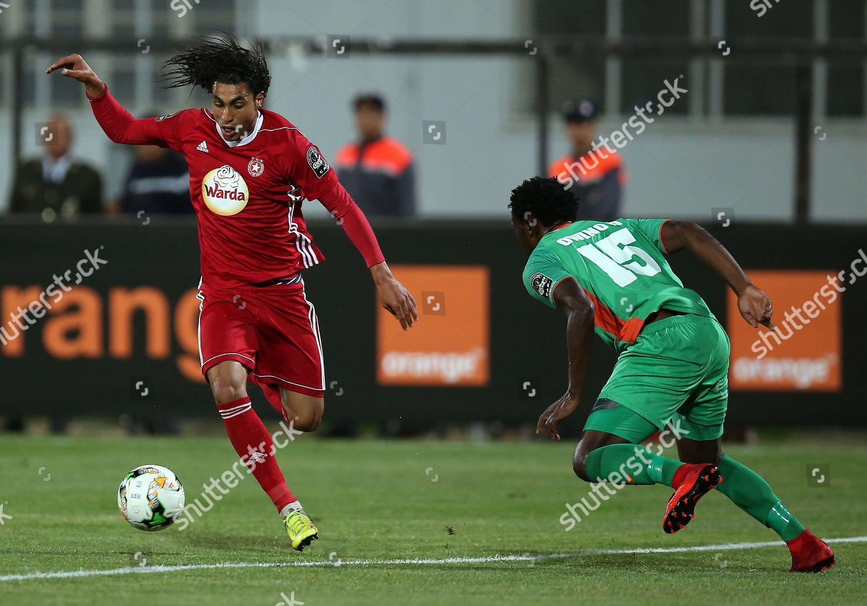 Etoile Sportive Du Sahel Player Amro Marei Editorial Stock