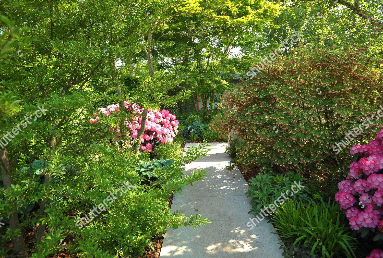 Morgan Stanley Garden NSPCC Chelsea Flower Show Editorial