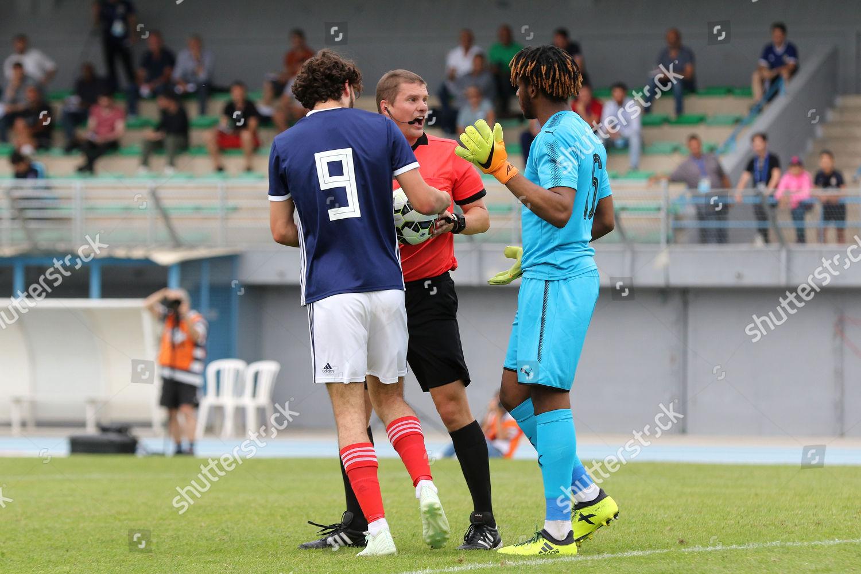 Match Referee Mr M Rudolf Takes Ball Editorial Stock Photo Stock Image Shutterstock