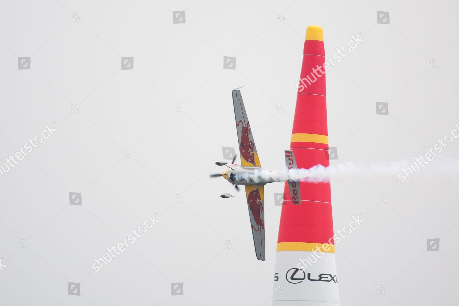3rd round popular Red Bull Air Race Editorial Stock Photo