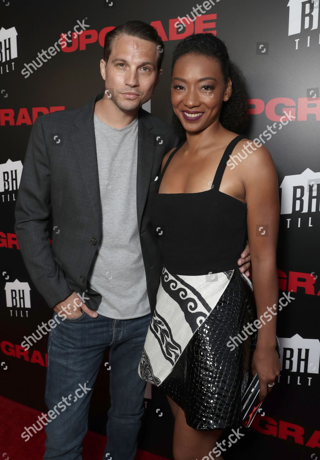 Logan Marshallgreen Betty Gabriel Editorial Stock Photo Stock