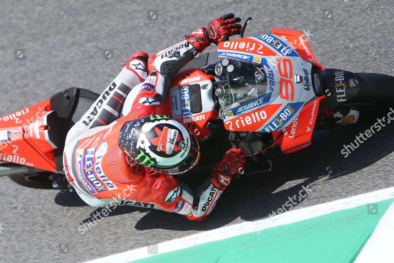 afed77cff0 99 Jorge Lorenzo Spanish Ducati Team during Editorial Stock Photo ...
