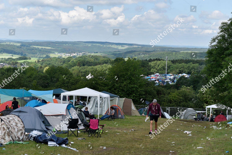 View Campsite Rock Ring Festival Nuerburgring Circuit Redaktionelles