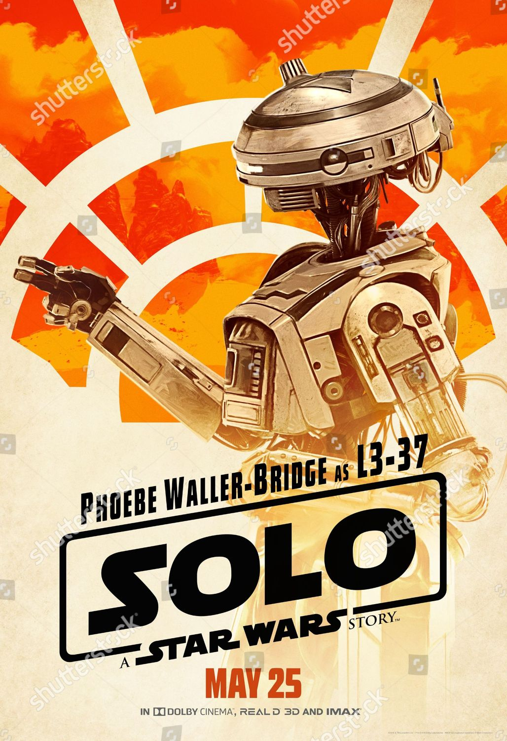 Solo Star Wars Story 2018 Poster Art Editorial Stock Photo Stock Image Shutterstock