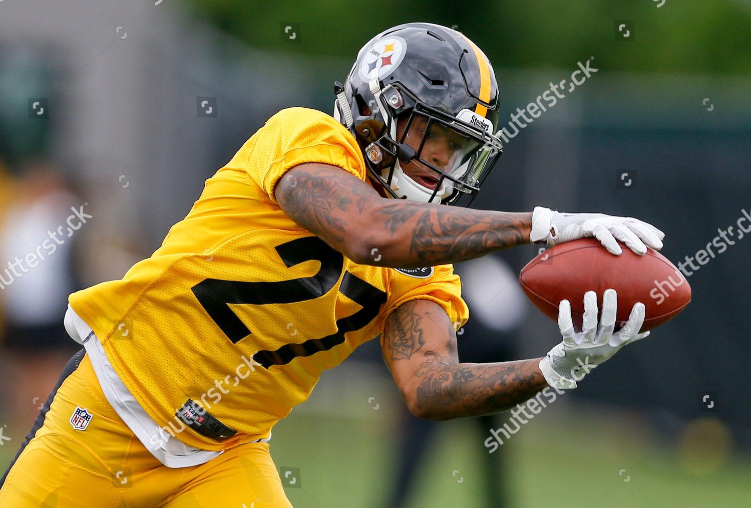 Pittsburgh Steelers safety Marcus Allen 27 during Editorial Stock ... f2dc8a24a