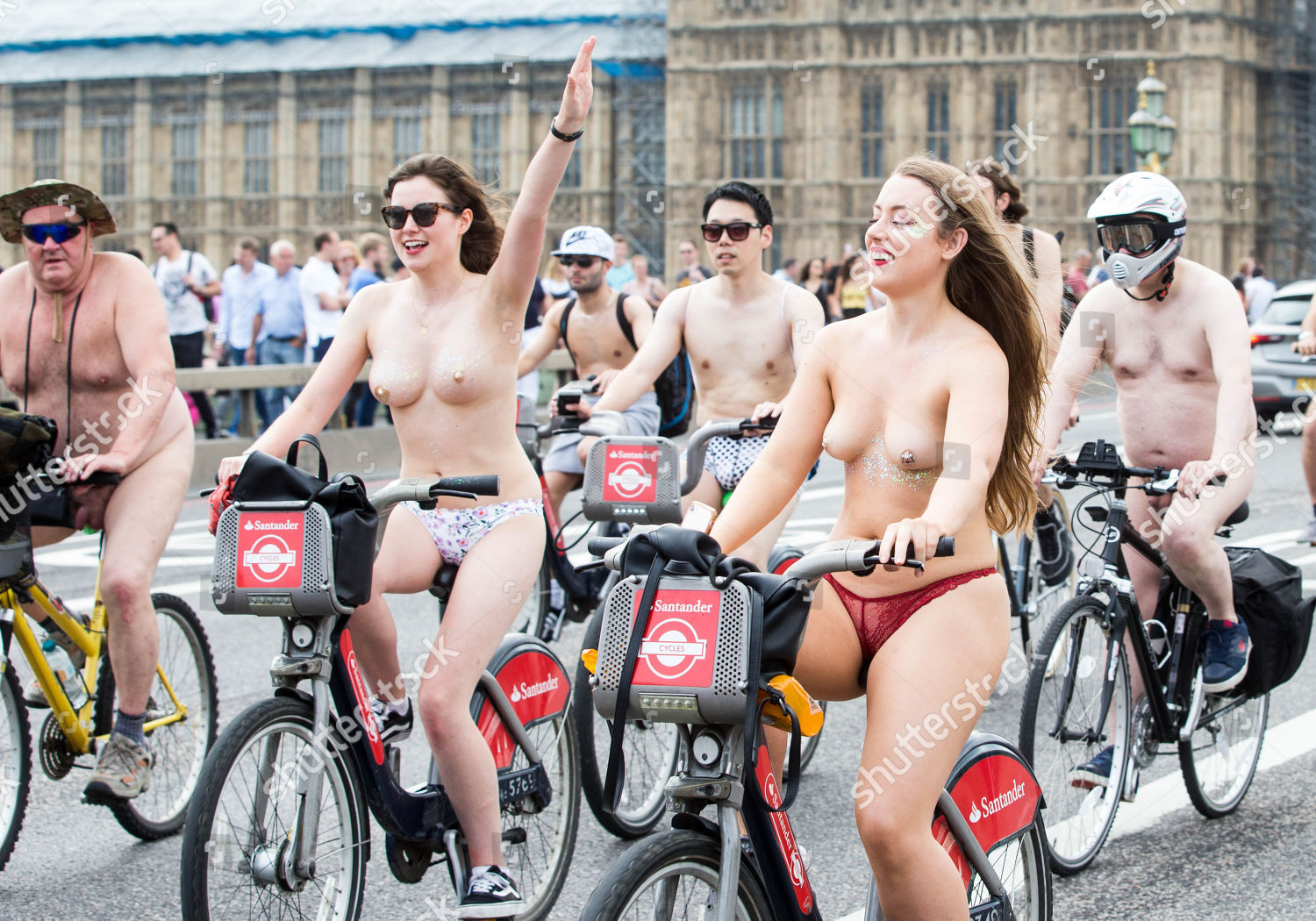 World Naked Bike Ride London-8348