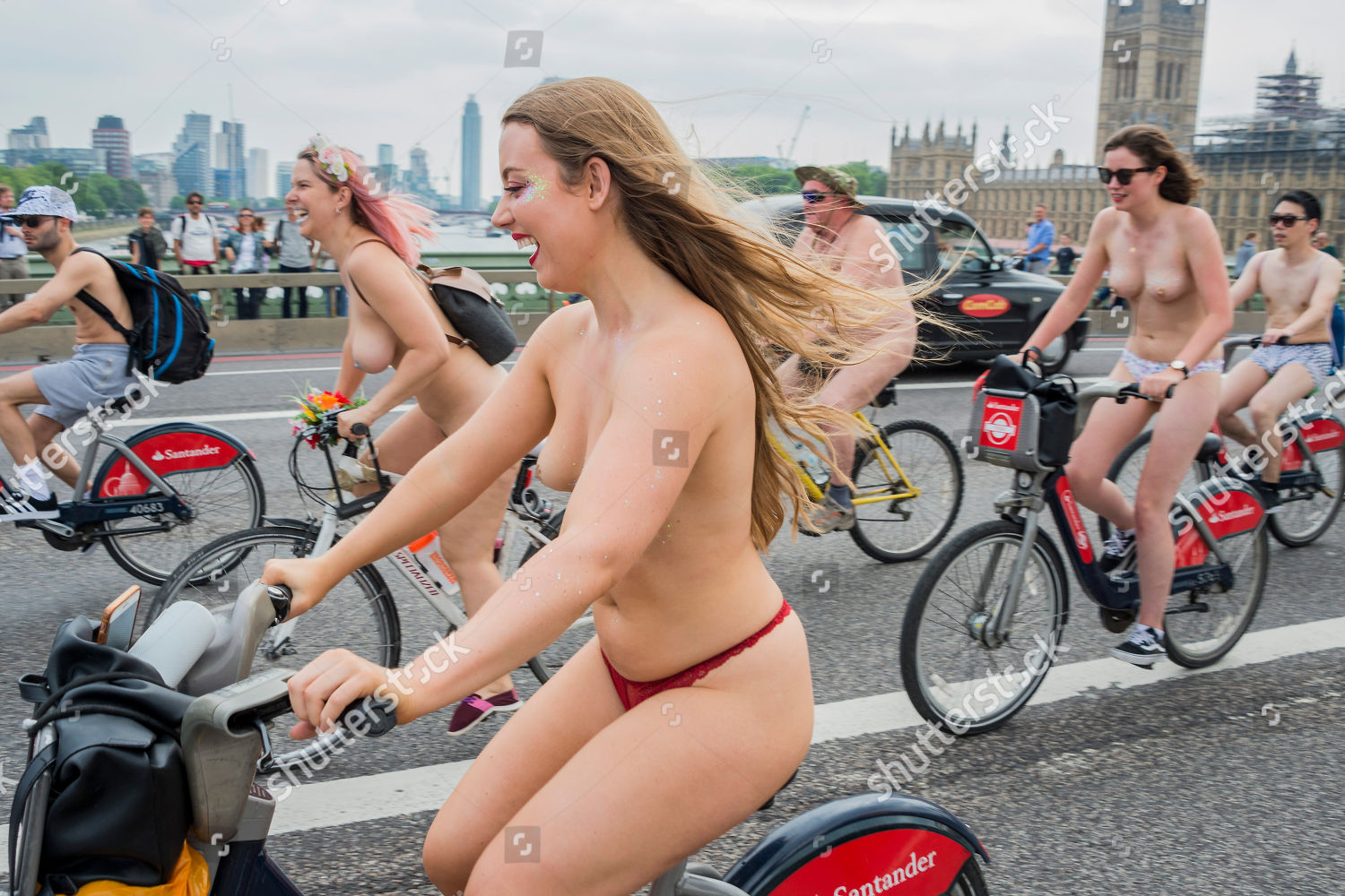 World Naked Bike Ride London-3851
