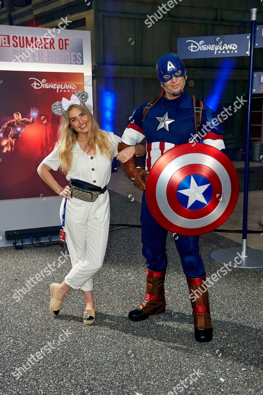 Capitaine AMERICA Disneyland Paris BOL Bowl CAPTAIN