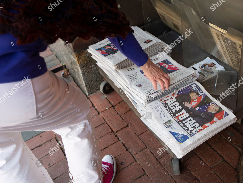 passerby picks copy Boston Globe other newspaper Editorial