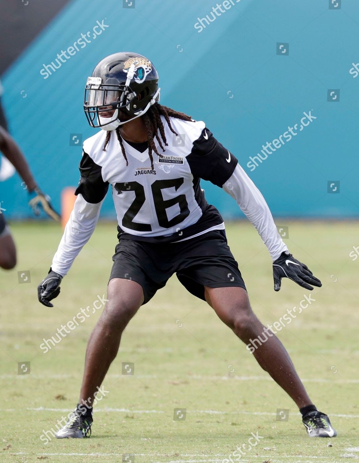 super popular aa2c6 d9ce5 Jacksonville Jaguars safety Jarrod Wilson 26 goes Editorial ...