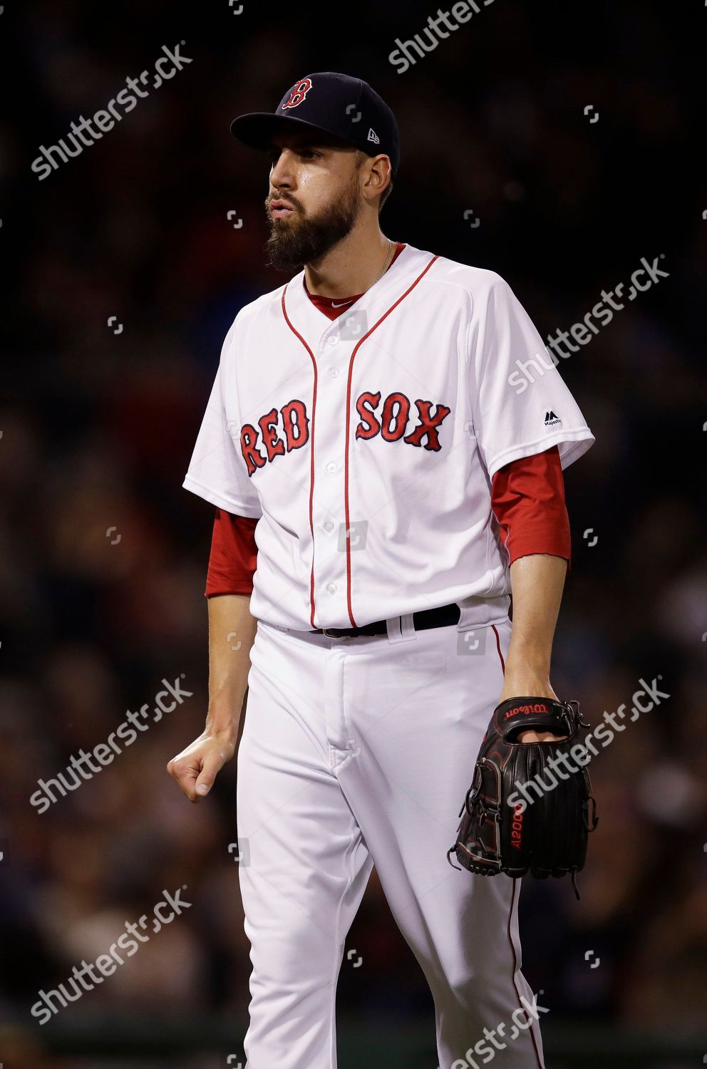 4d5dbb1d787 Boston Red Sox relief pitcher Matt Barnes Editorial Stock Photo ...