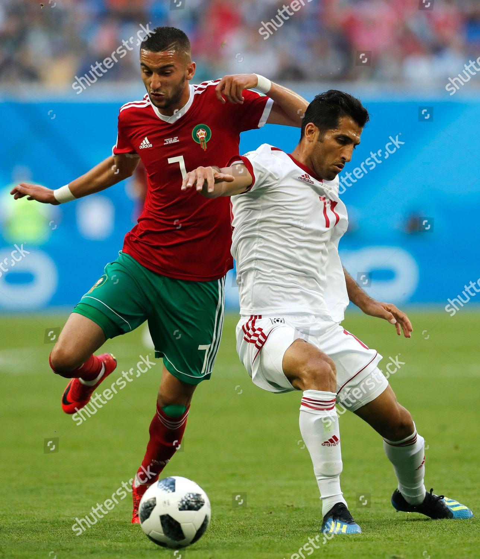 classic fit exclusive range on feet at Hakim Ziyach L Morocco Vahid Amiri Iran Editorial Stock ...