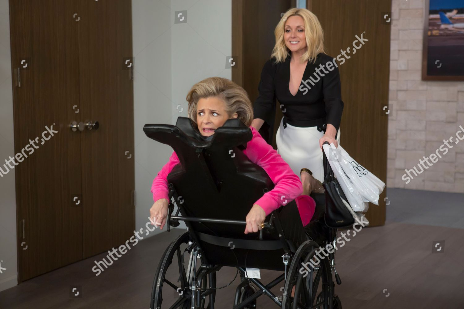 Amy Sedaris Kimmy Schmidt amy sedaris jane krakowski editorial stock photo - stock