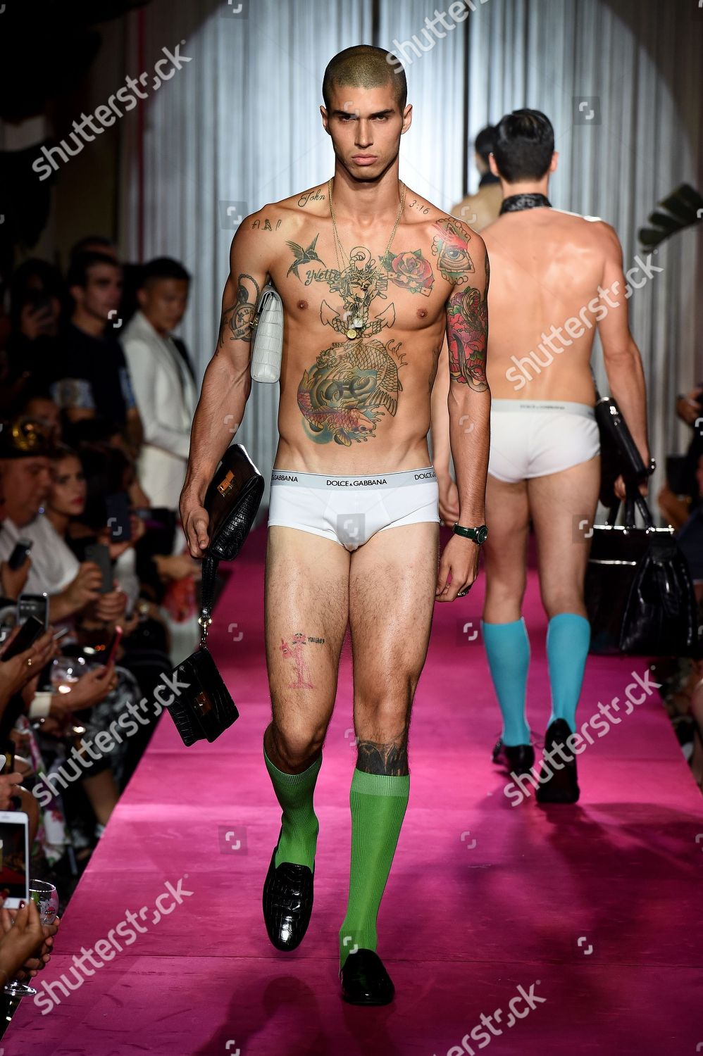 Dolce Gabbana The Naked King Men Show Runway Spring Summer 2019 Milan