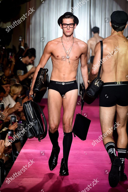 Naked dolce and gabana male models