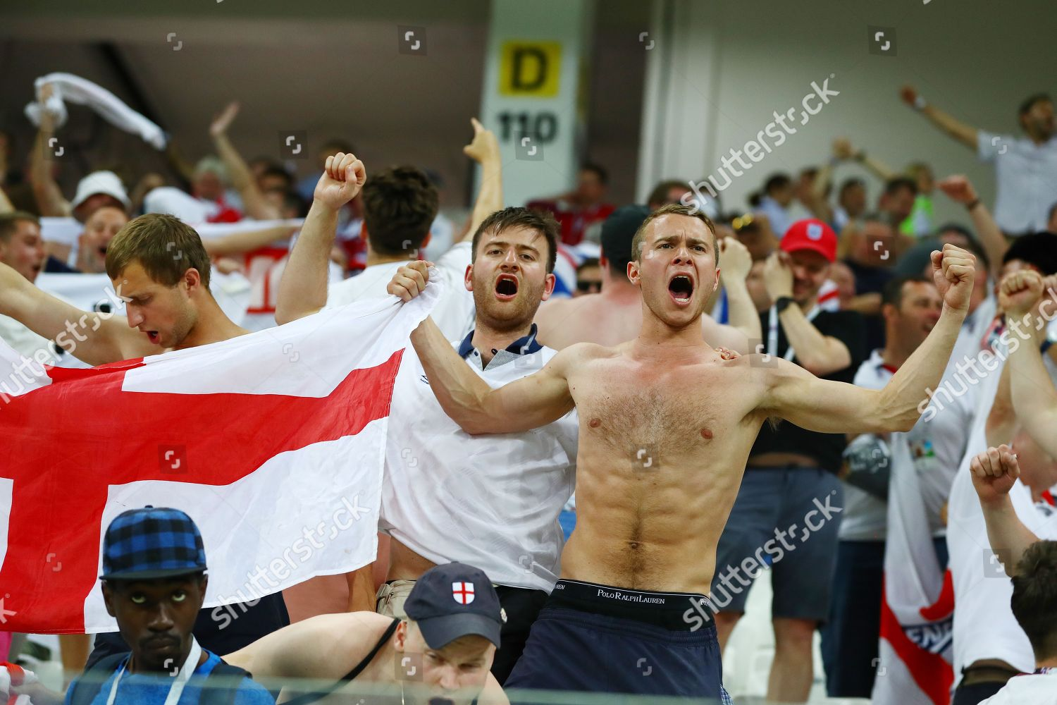 4e5953cbb55 Tunisia v England, Group G, 2018 FIFA World Cup football match, Volgograd  Stadium, Russia Stock Image by Kieran Mcmanus for editorial use, Jun 18,  2018