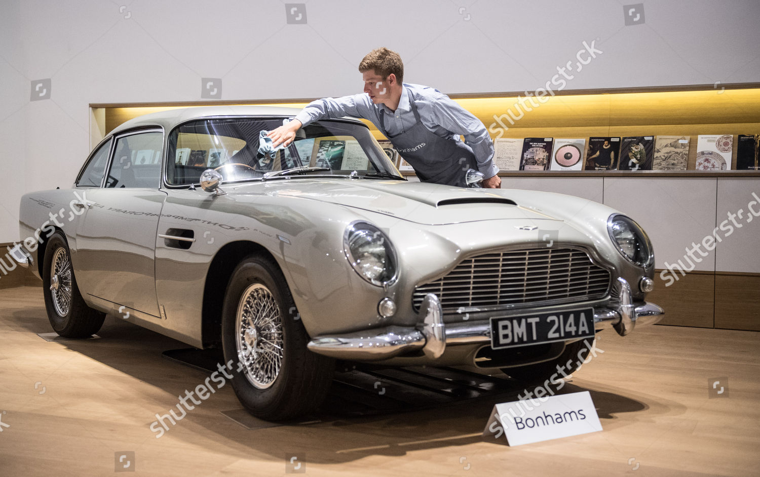 1965 Aston Martin Db5 Driven By James Editorial Stock Photo Stock