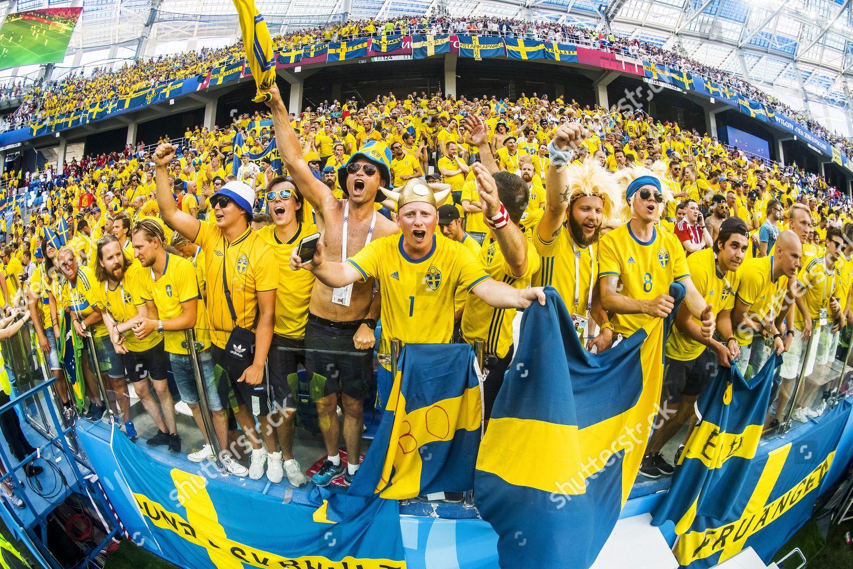 Stock photo of Sweden v South Korea, Group F, 2018 FIFA World Cup football match, Nizhny Novgorod Stadium, Russia - 18 Jun 2018