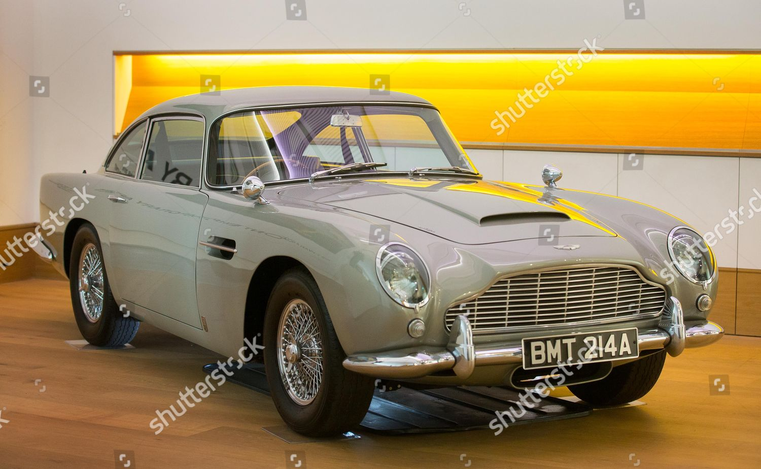Aston Martin Db5 Driven By James Bond Editorial Stock Photo Stock
