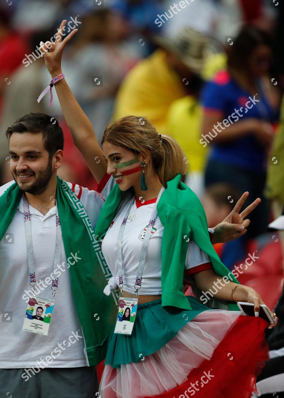 Arkivfoto av Russia Soccer WCup Iran Spain, Kazan, Russian Federation - 20 Jun 2018
