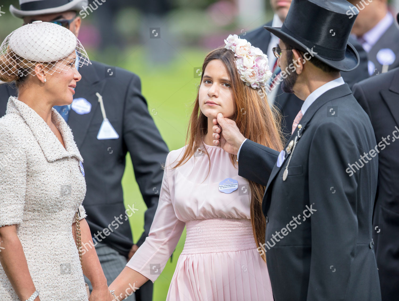 Princess Haya Jordan Sheikh Mohammed bin Rashid Editorial Stock