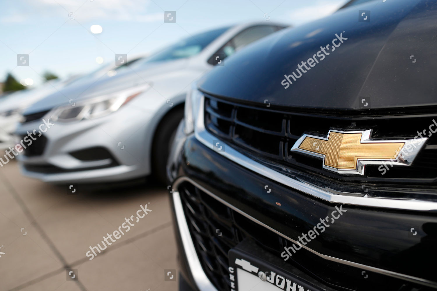 2018 Chevrolet Cruze r m Graph bowtie Editorial Stock Photo - Stock
