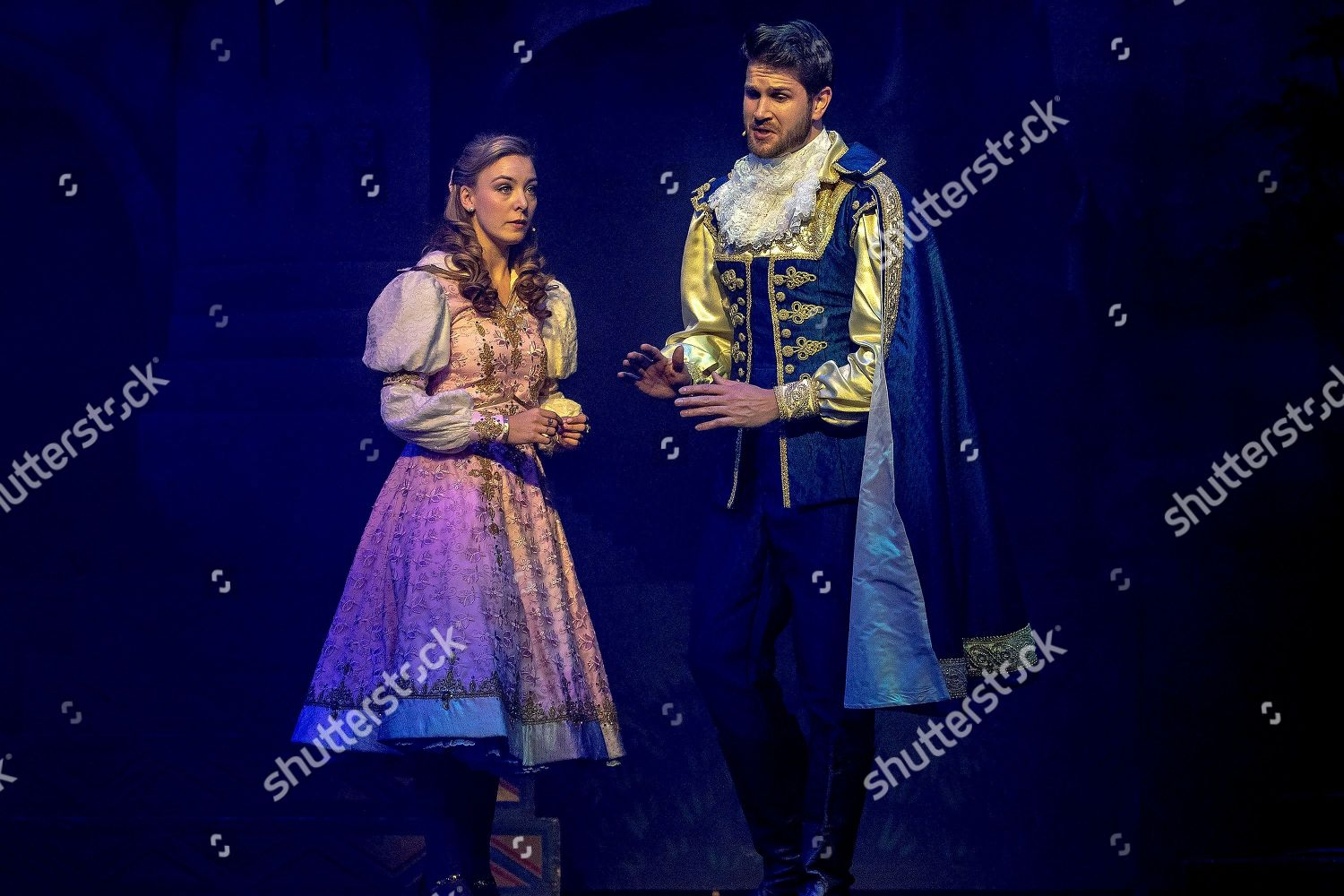 Cast members perform during preview Sleeping Beauty
