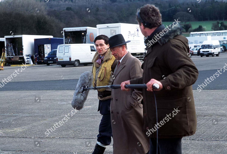 Foyle's War: Enemy Fire: Michael Kitchen: Julian Ovenden: behind the scenes 3