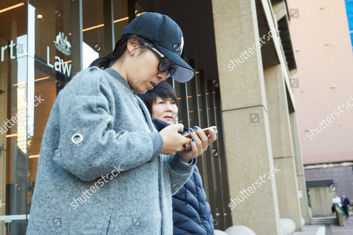 Editorial Stock Photo of Lina Fu leaves NSW Supreme Court Sydney ... 7bf93a5dc37