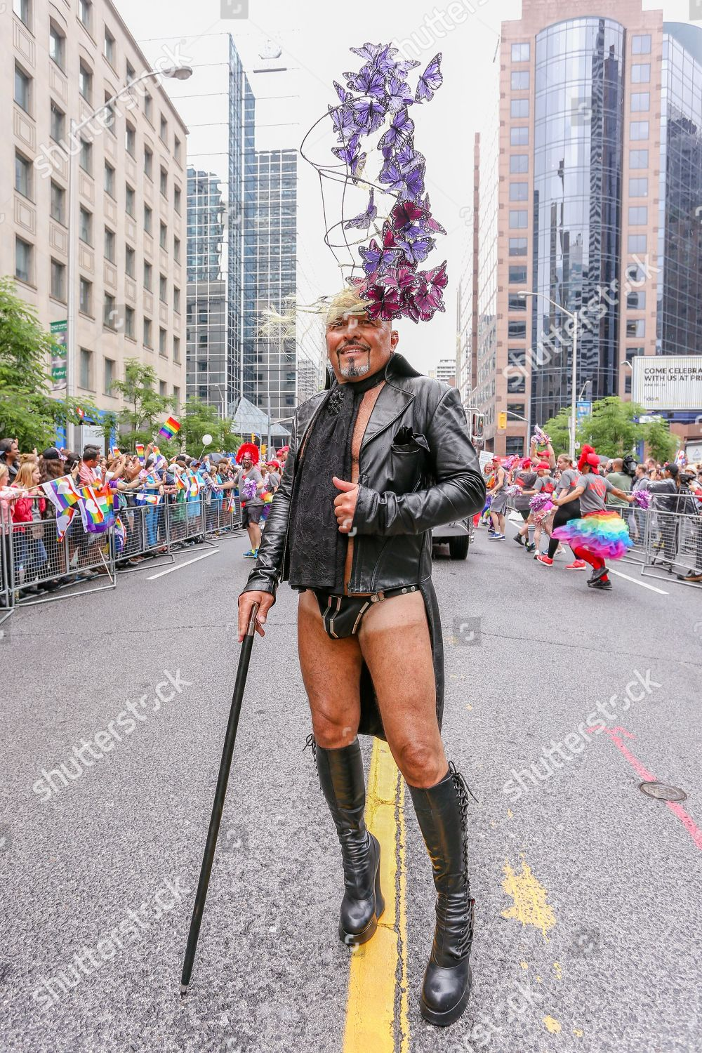Man leather outfit Editorial Stock Photo - Stock Image | Shutterstock
