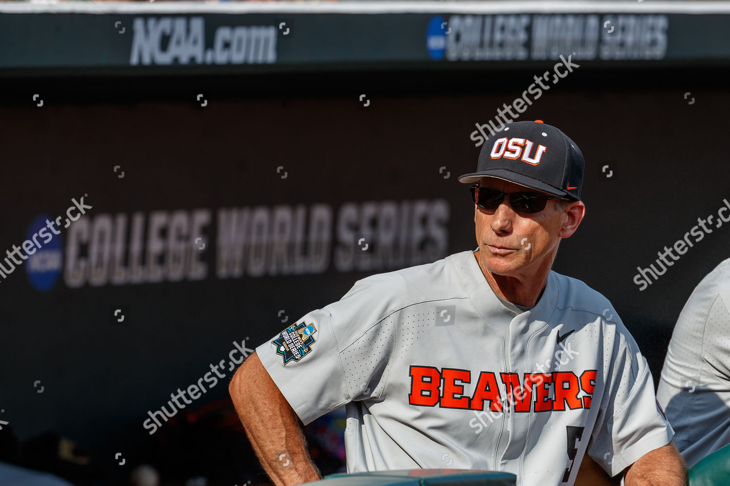 newest 3067f ffbe9 NCAA Baseball  NCAA Men s College World Series Finals Game 3 Arkansas vs Oregon  State, Omaha, USA Stock Image by Michael Spomer for editorial use, Jun 28,  ...