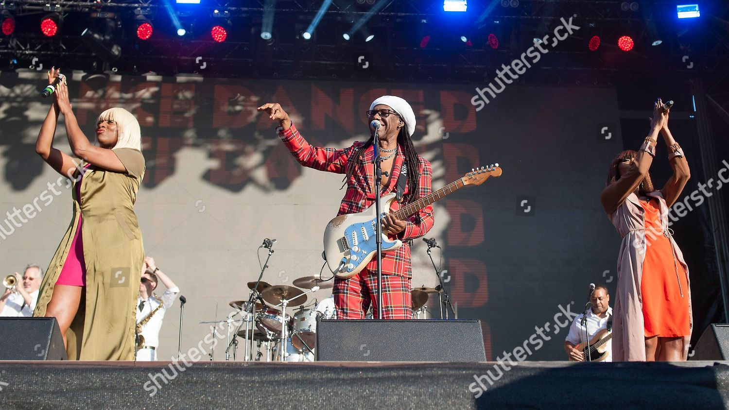 Chic Kimberly Davis Nile Rodgers Norma Jean Editorial Stock Photo