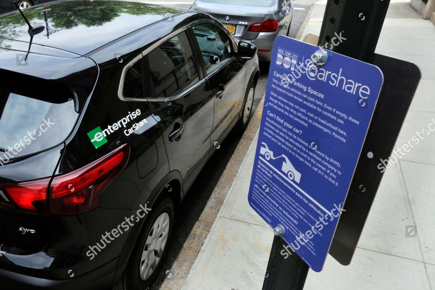 Enterprise Car Share Number >> Enterprise Carshare Vehicle Occupies Parking Space One