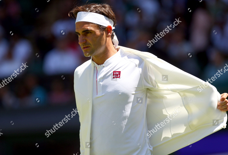 Roger Federer Switzerland Removes His Uniqlo Jacket Editorial Stock Photo Stock Image Shutterstock