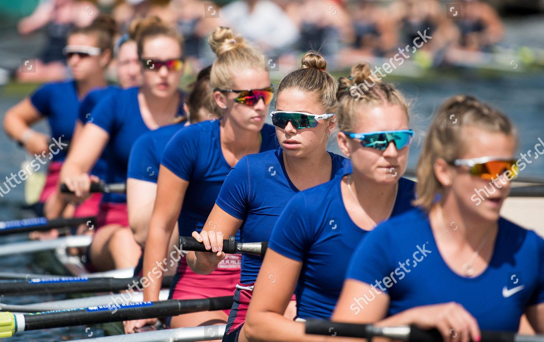 e8284b6fc6fb2c Rowers form Oxford Brookes Rowing Club prepare Editorial Stock Photo ...