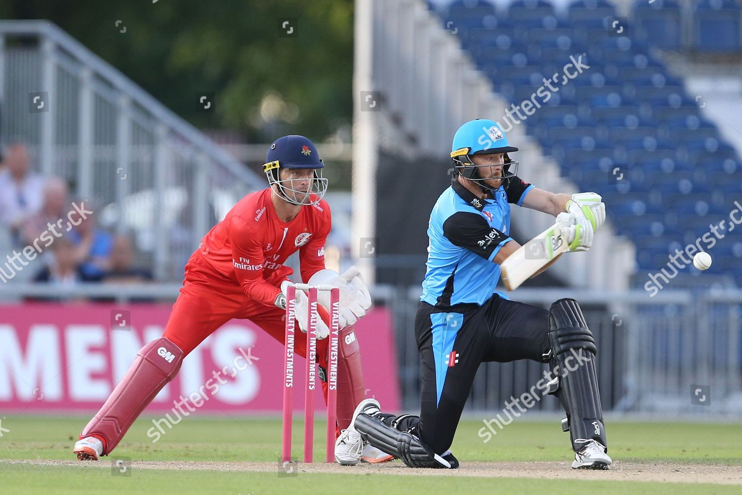 Martin Guptill during Natwest T20 Blast North Editorial Stock Photo